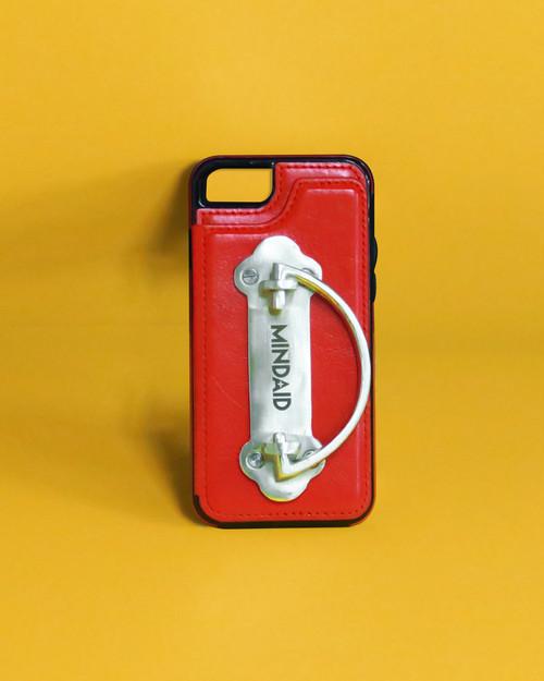 ハンドル付きiPhoneケース / レッド / iPhone7,8Plus タイプ