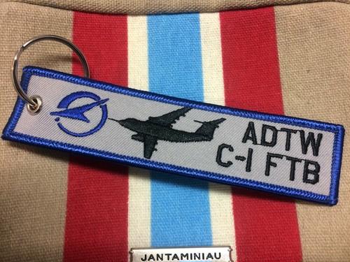 C-1FTB 銀ちゃんタグキーホルダー
