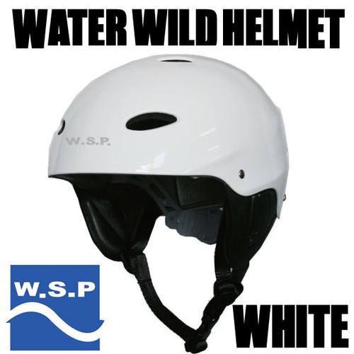 JWBA認定品 超軽量W.S.P.ウォータースポーツ用ヘルメット ホワイト