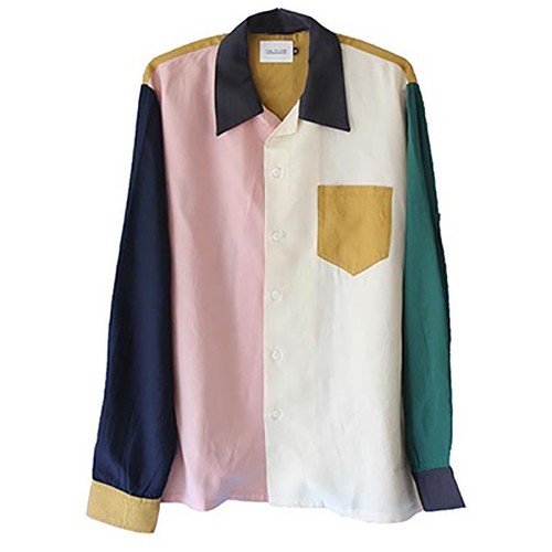 MULTI COLOR RAYON SHIRT  (CAL O LINE )
