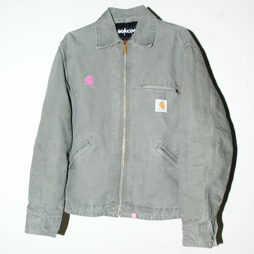 『excube』 ⓔ carhartt Zipped jacket