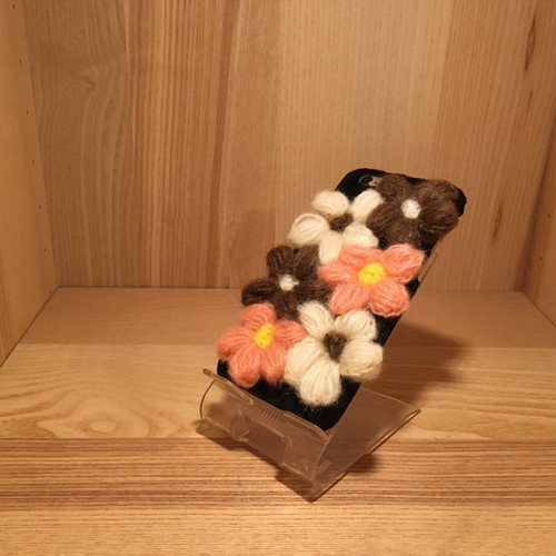 Wool flower case iPhone6/6S