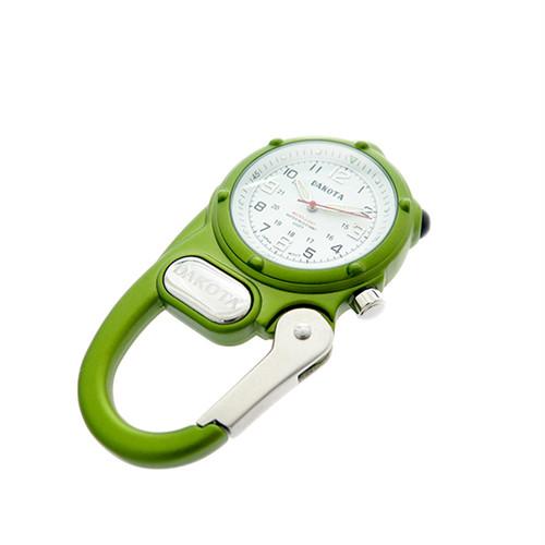 ダコタ DAKOTA 時計 3882-0 ミニクリップ クォーツ ホワイト  ライム