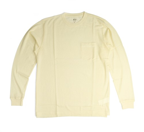 SV Wool Tee Long Sleeve [Sheep Milk]