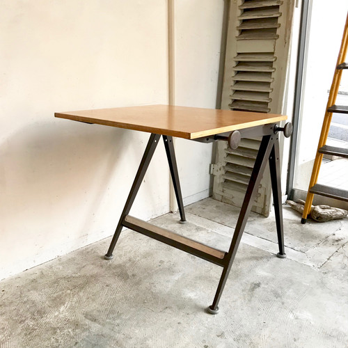 "Drafting Table ""Wim Rietveld & Friso Kramer"" Ahrend de Cirkel 1960's オランダ / BRN"