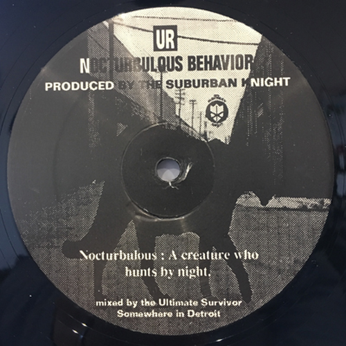 THE SUBURBAN KNIGHT - Nocturbulous Behavior (12inch)
