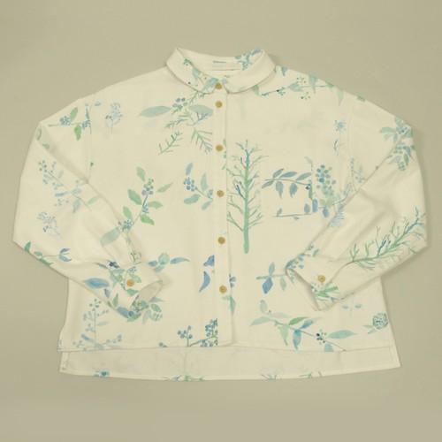 丸襟シャツ - 「春を待つ」