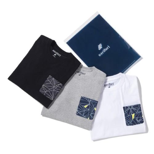 narifuri ダズル迷彩ポケットTシャツ ( 3P )