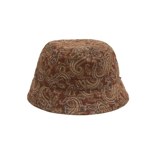 WHIMSY / PAISLEY HAT -BURGUNDY-