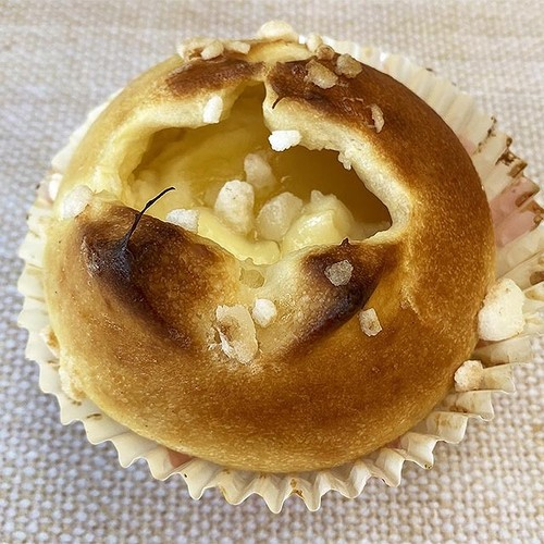 青森県産りんごのレアクリームチーズパン