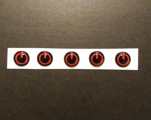 HONDA Nシリーズ NBOX N-WGN N-ONE N/ ロックボタン ポチガー プックリシール 電源ボタンバージョン