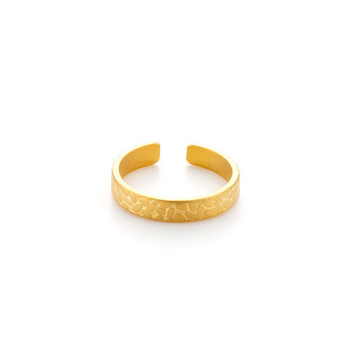 Textured Ring - Rice