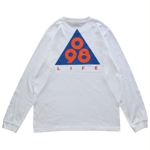 Triangle 098 L/S Tee (NYC) / LIFEdsgn