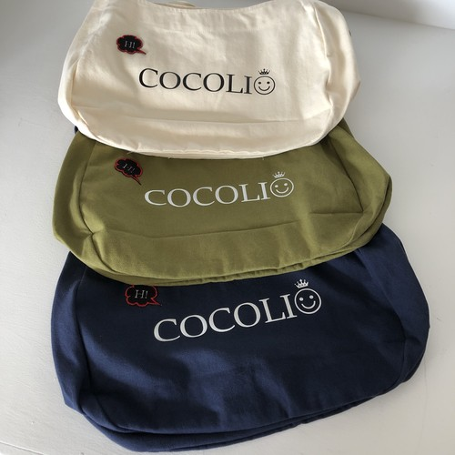 COCOLIO 斜めがけキャンバスbag