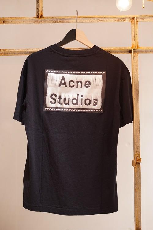 Acne Studios / REVERSE LABEL T-SHIRTS (BLACK)