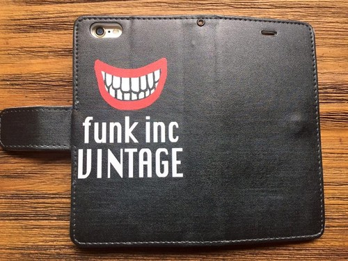 【アメ村ストアに在庫あり】funk オリジナル iPhone6/6s 手帳型ケース