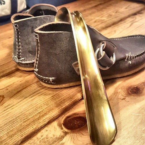 ギフトに喜ばれる! 真鍮製 靴べら Lサイズ