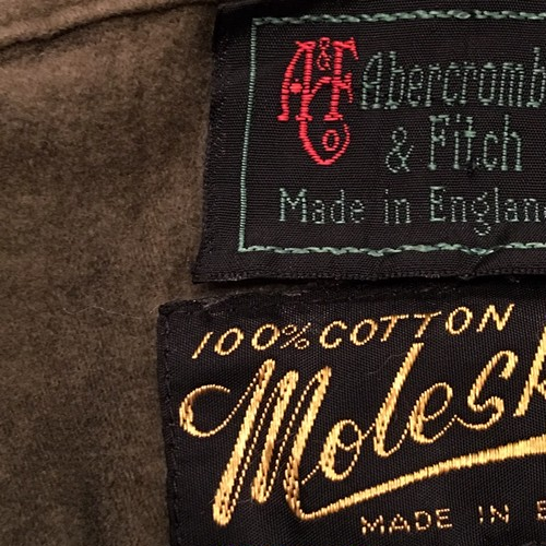 Made in England Abercrombie moleskin shirt