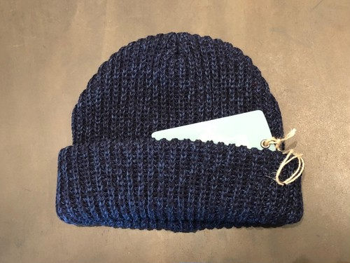 CC KNIT CAP (BLUE) / LOST CONTROL