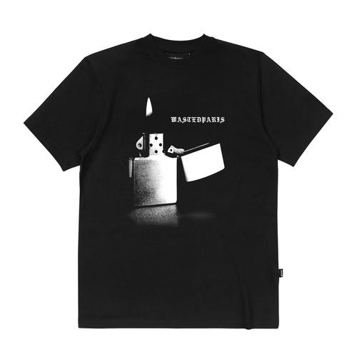 WASTED PARIS Phoenix T-Shirts BLACK