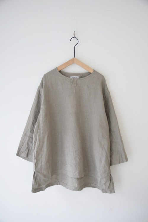 【ORDINARY FITS】LINEN DYER 3/4 SLEEVE SHIRTS /OF-S038