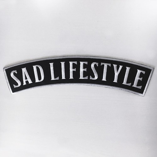 LIFE CLUB XL 'Sad Lifestyle' Patch