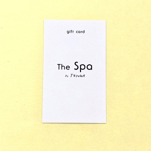 The Spa by Taroma ギフトチケット【45min.】