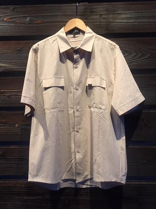 Eazy Miss  Furappu Poketto Color Shirt  Beige  Lサイズ