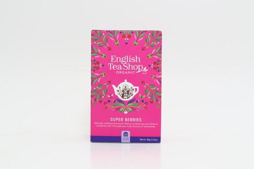【リニューアル!English Tea Shop】スーパーベリー  ペーパーボックス  20袋入り(ティーバッグ)/有機JAS認定紅茶