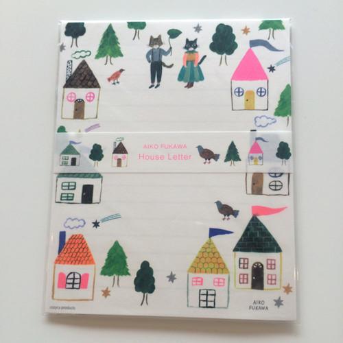 AIKO FUKAWA レターセット House Letter