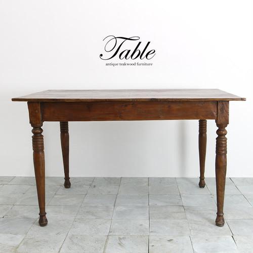 ●送料無料●アンティークテーブル110 ダイニングテーブル デスク