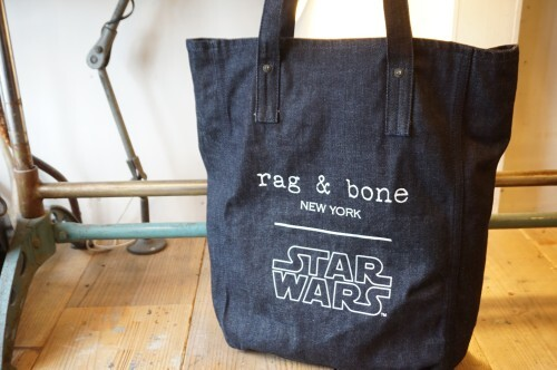 "rag and bone × STAR WARS indigo Tote ""LIMITED EDITION"""