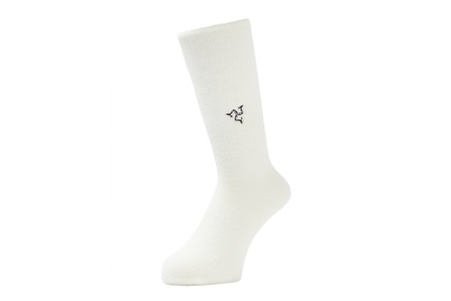 WHIMSY  / WRIST BAND SOCKS -WHITE-