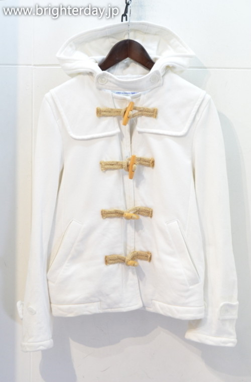 COMME des GARCONS SHIRT ダッフルパーカー