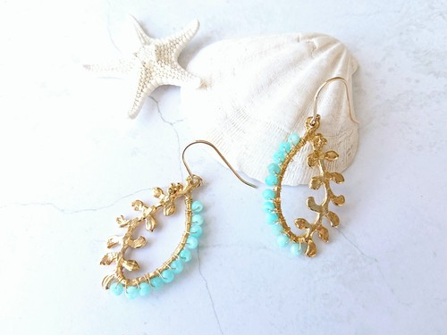 reaf color pierce/earring 031