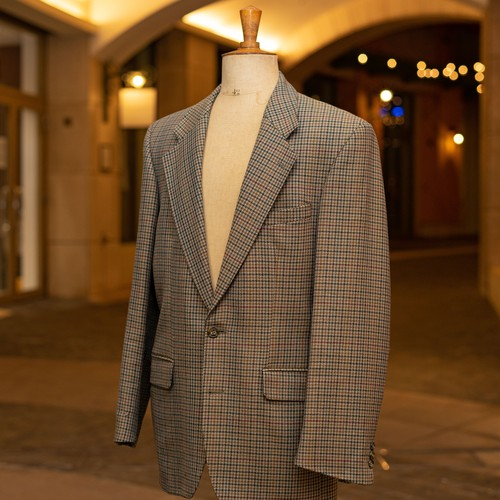 OLD LIBERTY WOOL TAILORED JACKET