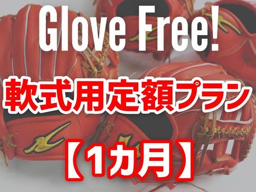 Glove Free! 【軟式用定額プラン1か月】
