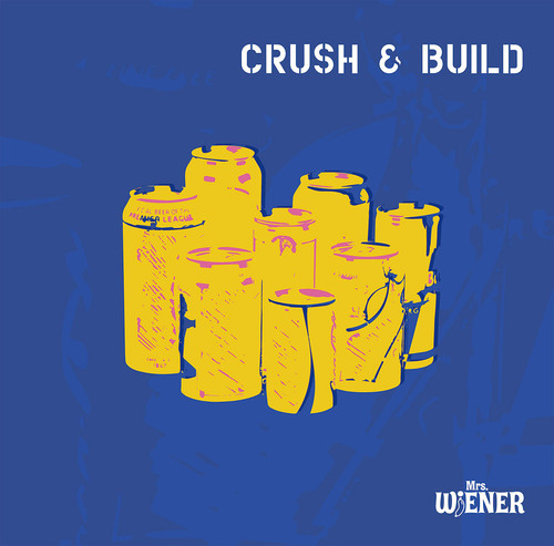 "Mrs.WiENER CD ""Crush & Build"" ステッカー付"