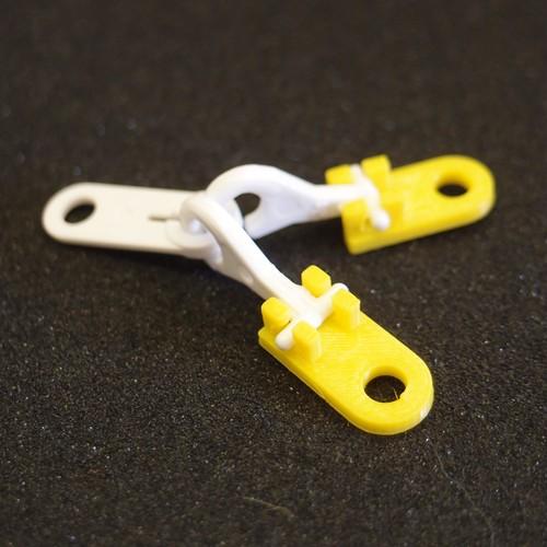 2両目動力車専用連結器【黄色(Yellow)】(2個入)