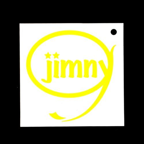 Jimny ステッカー(イエロー)