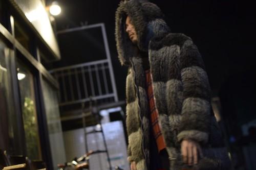 """""""McGREGOR"""" Fake Fur Hooded Coat"""