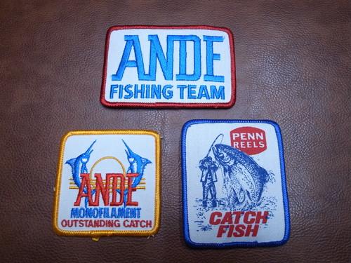 釣り好きな方必見 フィッシング関係 FISHING VTG PATCH アウトドア キャンプ