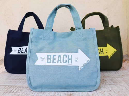 MIYAKOJIMA BEACH ➡︎  CANVAS TOTE