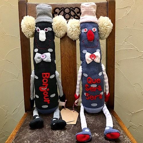 くつ下ポムポムさん GOROHON(ゴロホン)さんの手作り靴下人形