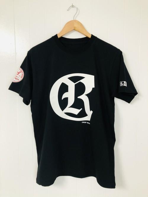 CROP RICH ロゴ半袖Tシャツ