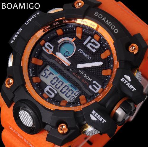 オレンジ 海外限定 ビッグフェイス 高級感 人気デザイン ダイバーズ 腕時計