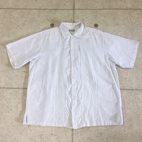 90s COMME des GARCONS HOMME BIGシルエットストライプ半袖シャツ