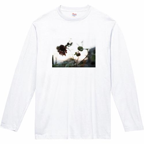 Leaves & Flowers 長袖Tシャツ 5.6oz|キッズ