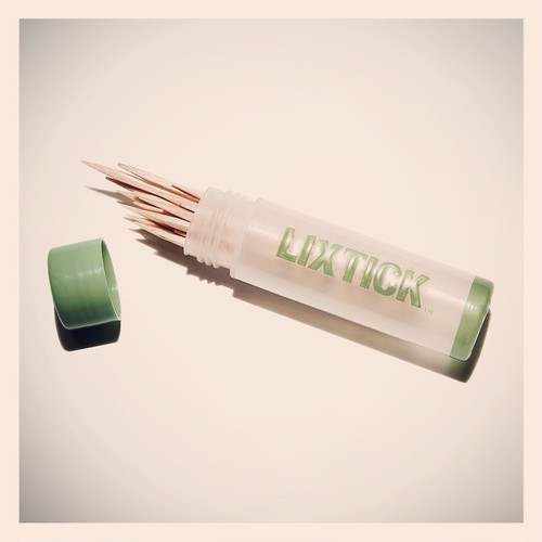 LIXTICK MINT TOOTHPICK 1TUBE.ハッカ爪楊枝