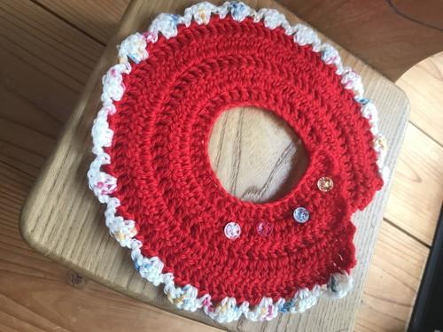 手編みスタイ